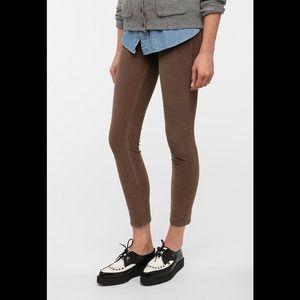 BDG Tan Corduroy Legging